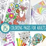 Abstract Coloring Pages For Adults
