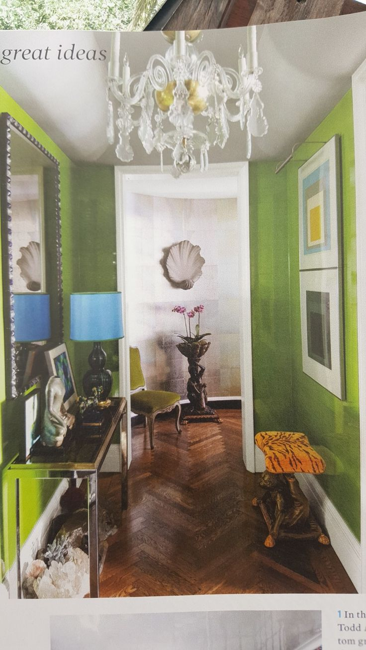 Green wall lacquer 8 best Wallpaper Wowzers
