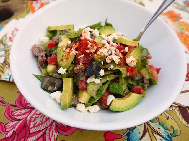 Eighty Twenty: 80--- Chopped Taco SaladSummer Day, Mr. Tacos, Ground Beef, Easy Dinner, Dinner Ideas, Tacos Salad, Chops Tacos, Healthy Recipe, Taco Salads