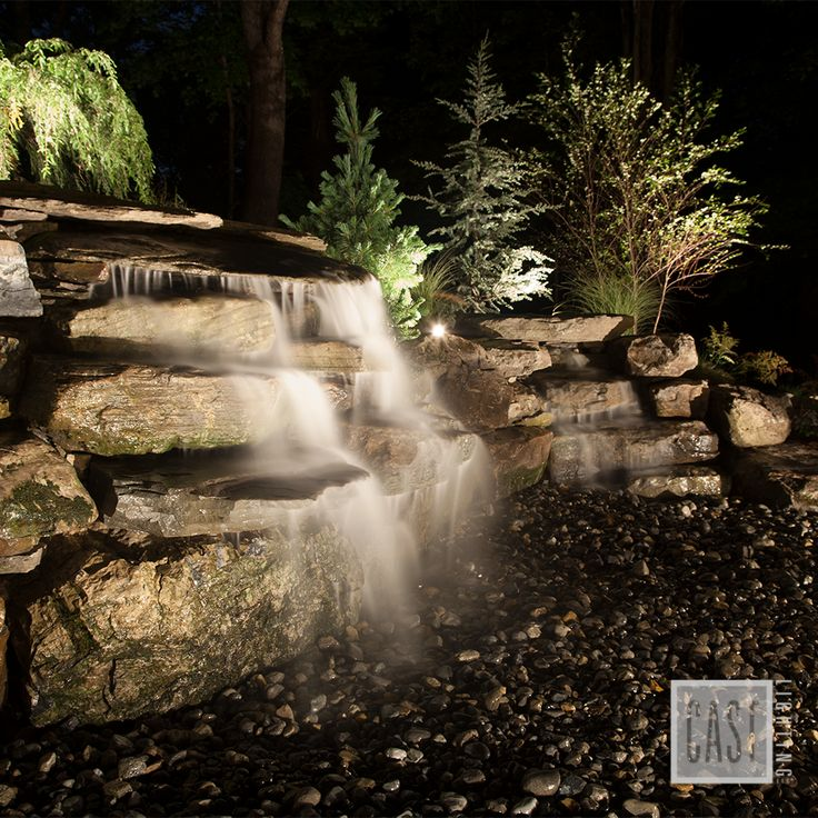 Accentuate the nature and peace in your own outdoor living space with landscape lighting pin