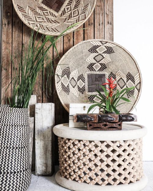 Village - Woven Wonders  Beauty in weaving, always something we're in awe of; each hand-woven piece unique and a complete form of art! These larger baskets are perfect as wall hangings.  Featured: XL Woven African Baskets, Bamileke Coffee Table.  Explore our products online & in stores today.  Showrooms: Bundall & Burleigh Online: www.villagestores.com.au (at Village Stores)