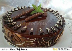 Cheesecake s broskvovou příchutí a polevou Mirror Alena Olejnikova