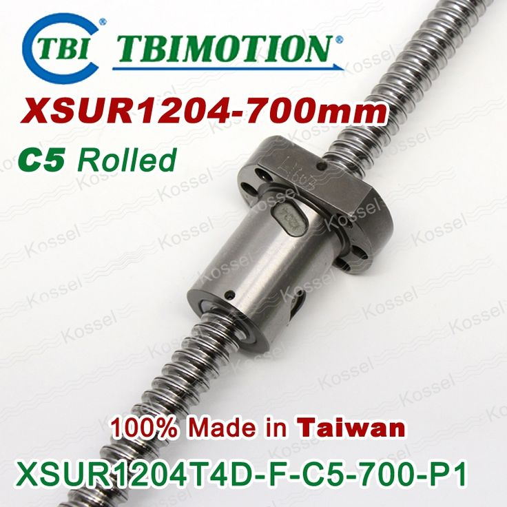 121.90$  Watch more here - http://aiuek.worlditems.win/all/product.php?id=32346850342 - TBI 1204 ball screws 700mm Rolled C5 with XSU ballnut XSU1204 SFU1204 + end machined of high stability CNC parts rm1204 set
