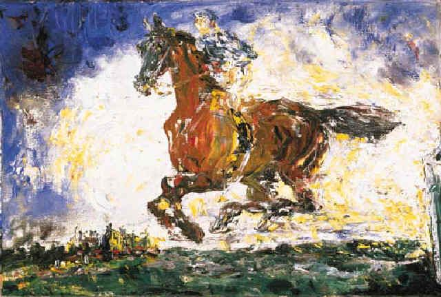 The Whistle of a Jacket (1946) by Jack Butler Yeats, R.H.A. (1871-1957)