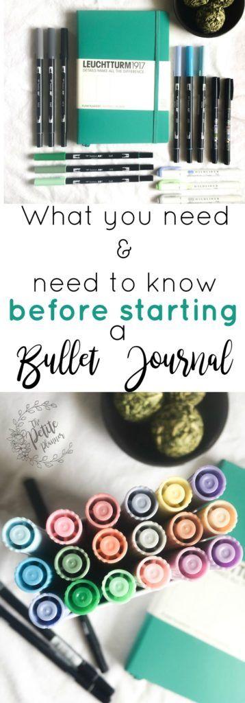 Bullet Journal 2.0: Before You Get StartedErin | The Petite Planner Blog