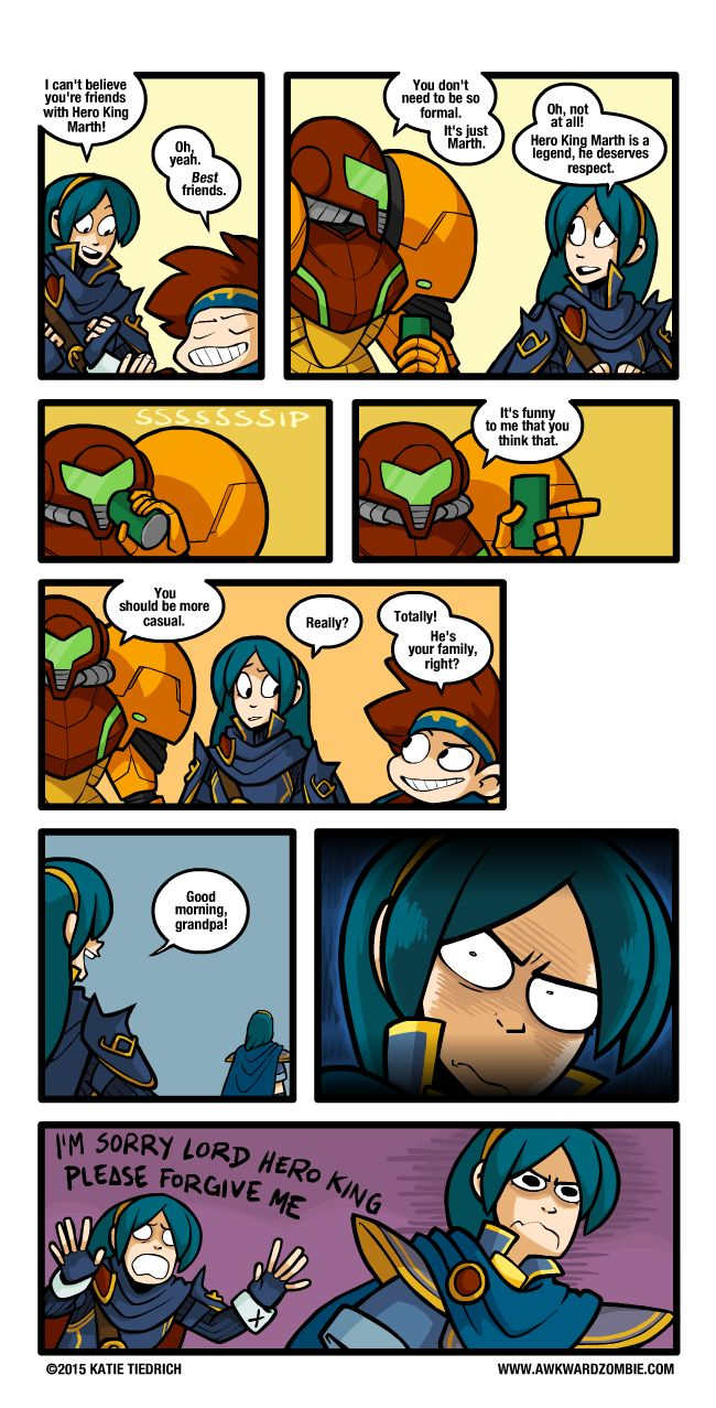 "AWKWARD ZOMBIE - Change of Address (Or as I like to call it, ""Something Lucina would totally do"")"