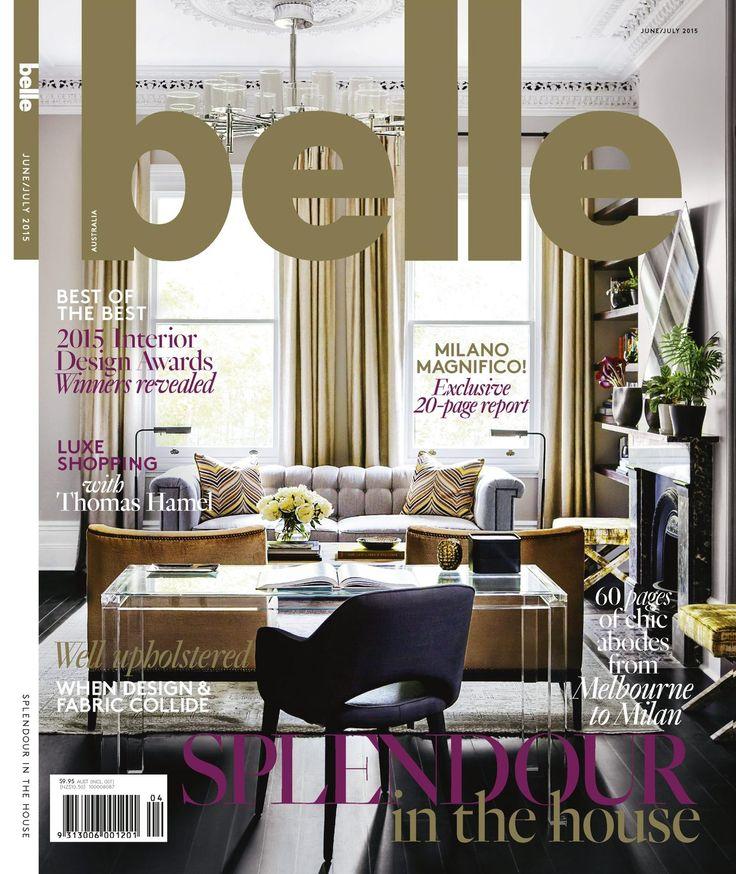 June/July 2015 Belle Magazine Cover