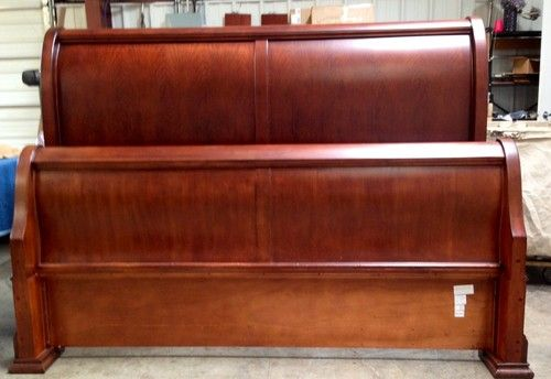 thomasville sleigh bed king 2