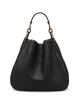 5b5e883dddb2 Bottega Veneta Woven Nappa Leather Hobo Bag