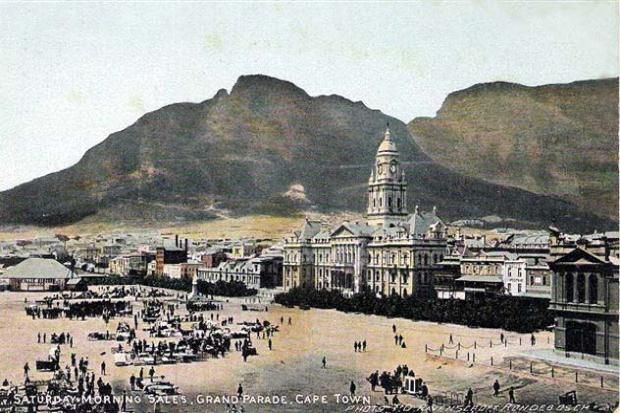 Vintage Postcard of Cape Town, South Africa
