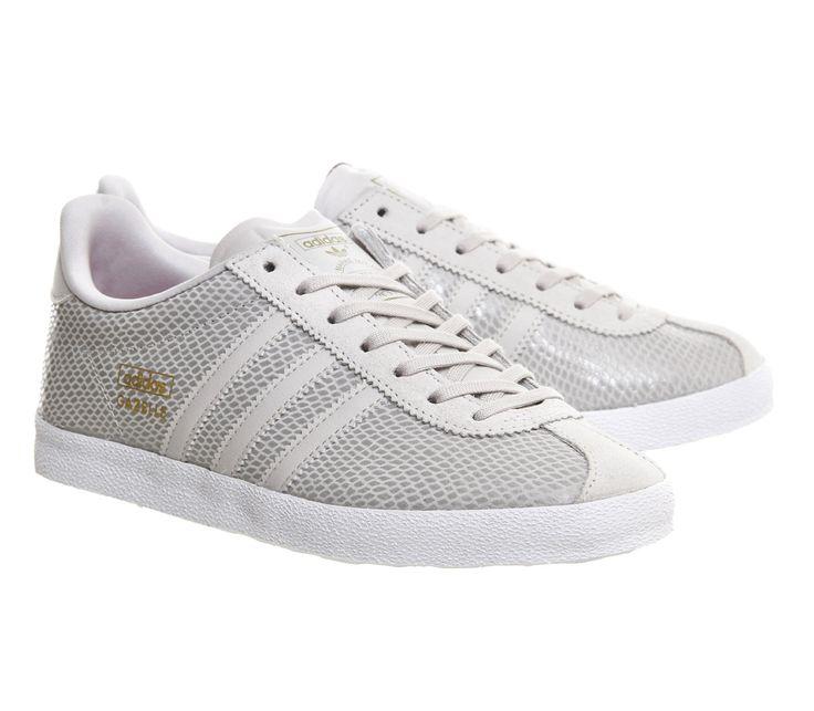 Adidas Gazelle Og W Pearl Grey Joy Pink Print - Hers trainers