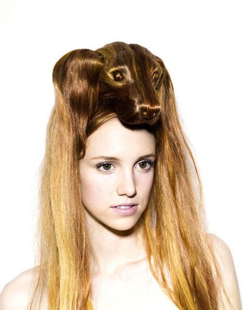 強烈なインパクトのアニマルヘアメイク – Hair Hats - | STYLE4 Design