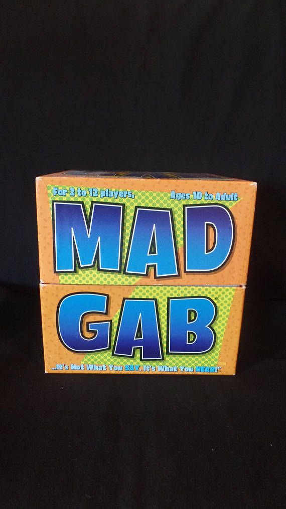 1995 Mad Gab Game...It's Not What You SAY It's What