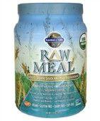 Raw Organic Meal 593 g Garden of Life Raw meal přesahuje jiné organické produkty tím, že navíc poskytuje živé probiotika, enzymy a Vitamin Code®. RAW food zajišťuje vitamíny, minerály i živiny jako jsou beta glukany, superoxidy dismutázy, glutationy a koenzymy Q 10, které umožňují zdravé fungování lidského těla.
