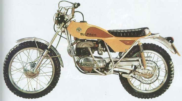 My first bike a 175 Bultaco Lobito