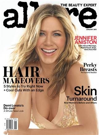 Jennifer Aniston strips down, opens up on unfair motherhood expectations