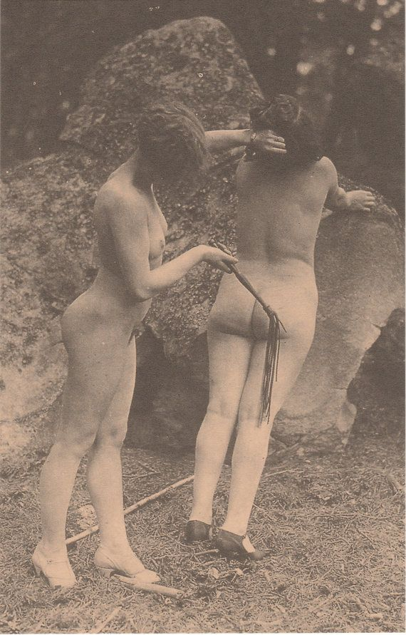 Are mistaken. French post cards spank for