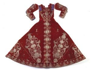 Vestido-de-Virgen. siglo XVIII
