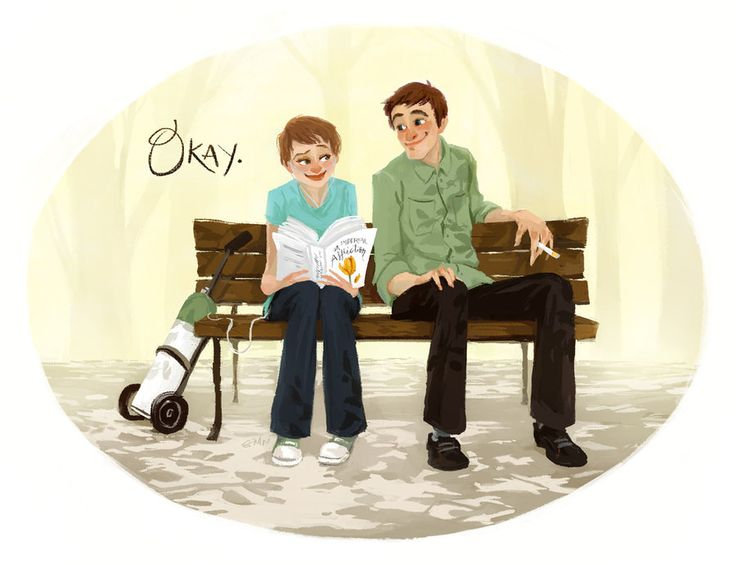 Hazel and Augustus It would be a privilege to have my heart broken by you.
