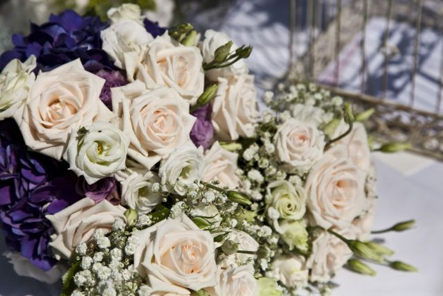 bridal and bridesmaids bouquet