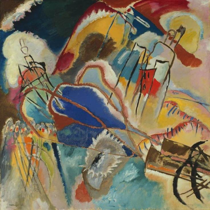 Kandinsky - Improvisation No. 30 (Cannons) at The Art Institute of Chicago