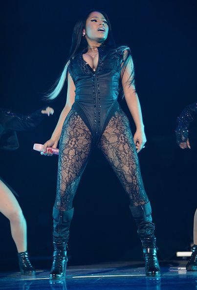 Nicki Minaj wearing the Clair Tights at #TIDALX1020! bit ...