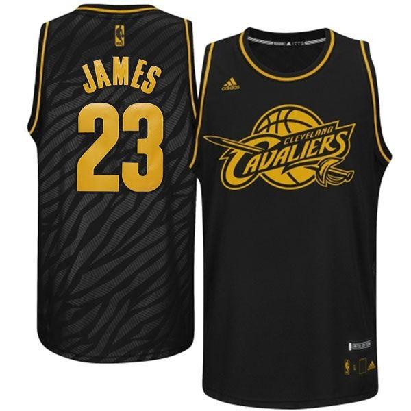 the latest 1b9ce 22639 Cleveland Cavaliers 23 Lebron James Precious Metals Fashion ...