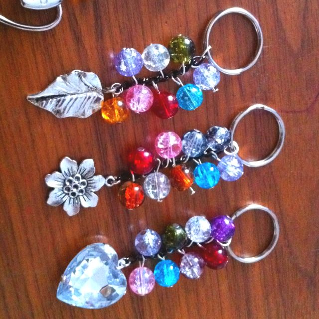 Handmade handbag charms / keyrings  Ideal little gifts!