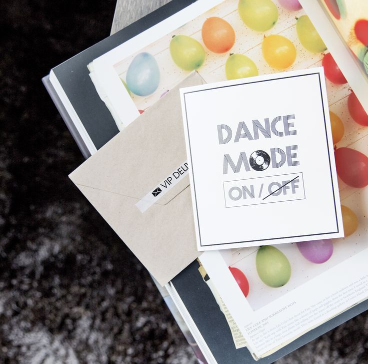 TheGiftLabel: DANCE MODE ON/OFF! #postcard #VIPdelivery #sendsomelove #AMSTERDAM