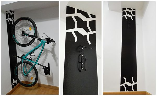 102 best images about la neurona del manitas on pinterest for Como guardar la bici en un piso