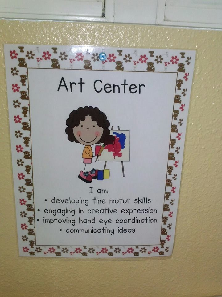 learning center signs with objectives - Google Search