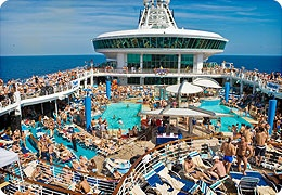 This cruise deck either needs MORE chaise lounges or LESS people!  http://www.parknpool.com/pool-furniture/commercial-pool-furniture.php