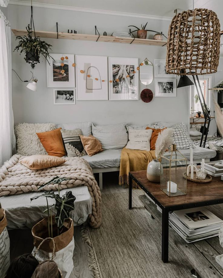 – A mix of mid-century modern, bohemian, and indus…
