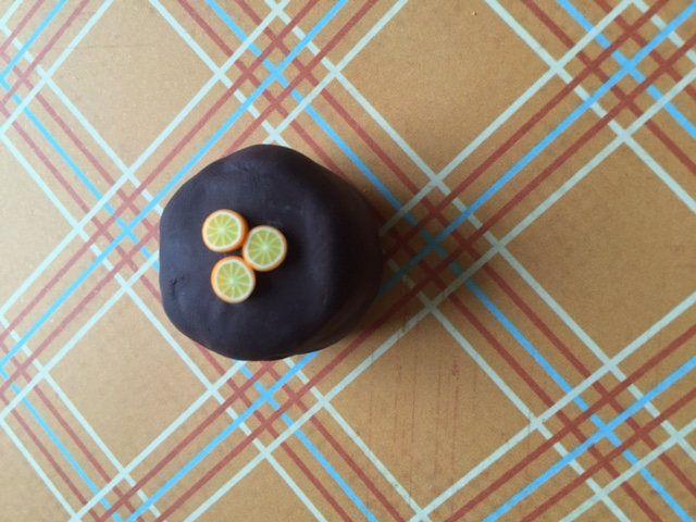 Chocolate orange cake by CarikubeCafe on Etsy