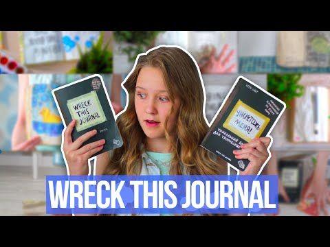Wreck This Journal | Уничтожь Меня #1 - YouTube