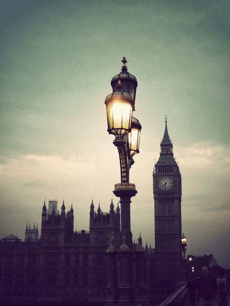 London City! English summer rain...
