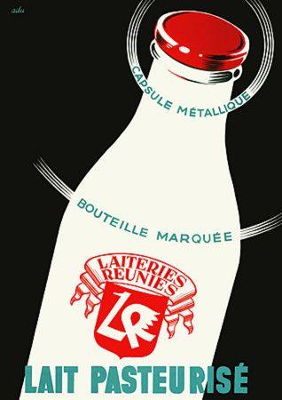 Pasteurised Milk. 1950   http://www.vintagevenus.com.au/vintage/reprints/info/FD206.htm