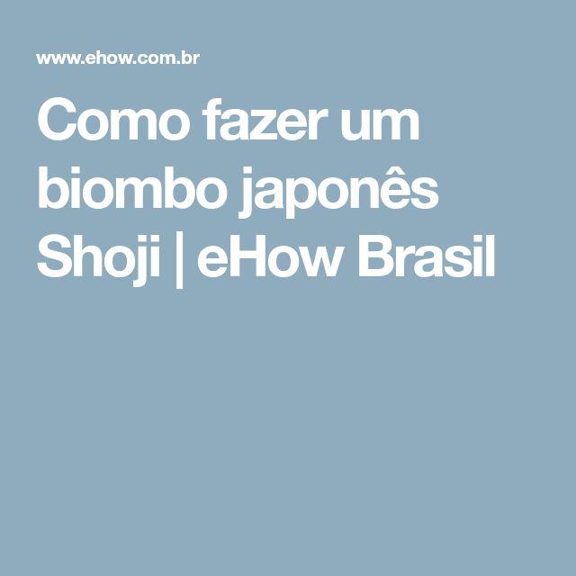 Como fazer um biombo japonês Shoji | eHow Brasil
