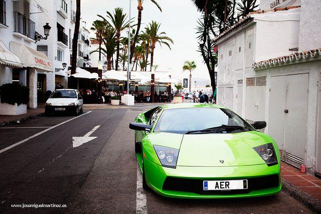 Puerto Banus. Marbella. Spain. Super-cars