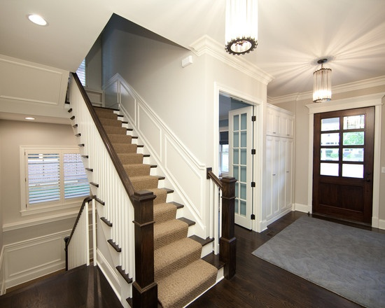 Traditional Entry Stairs Design, Pictures, Remodel, Decor and Ideas - page 7