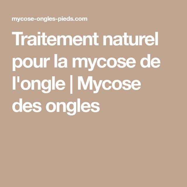 Préférence Les 25 meilleures idées de la catégorie Mycose traitement naturel  DW58