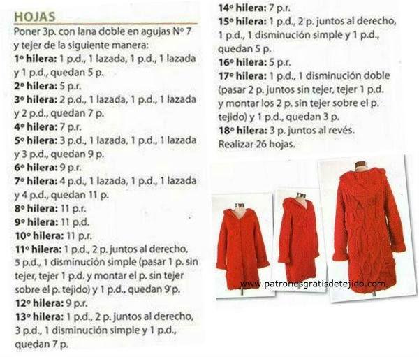 48 best tapados de lana images on Pinterest | Capucha, Chalecos y ...