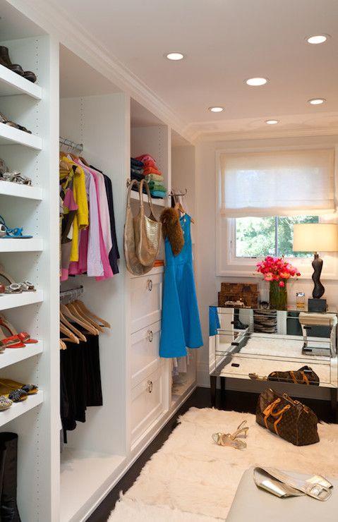 Marie Christine Design - closets - wall of closets, wall of built in closets, floor to ceiling built in closets, closet system, adjustable c...