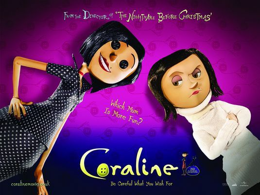 CORALINE'S REAL MOM AND OTHER MOTHER