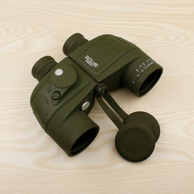 Powerful military binoculars 10X50 waterproof digital compass binoculars, optical rangefinder binocular telescope for hunting