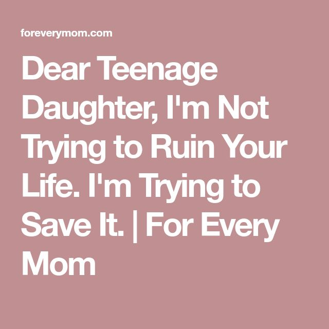The 25+ best Teenage daughters ideas on Pinterest Teenage mom - disapproval letter