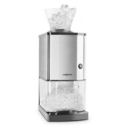 oneConcept Icebreaker Broyeur à glace machine à glace pilée: Price:69.99Vu la puissance du moteur sous son capot, le broyeur de glace de…