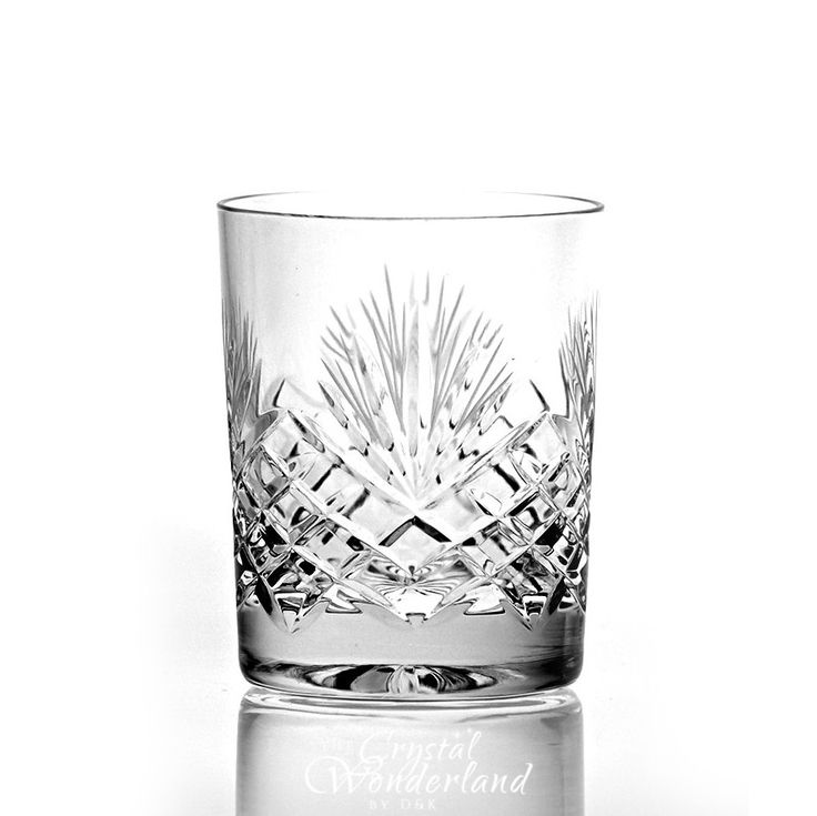 Dionysos Crystal Whiskey Glasses, Set of 6