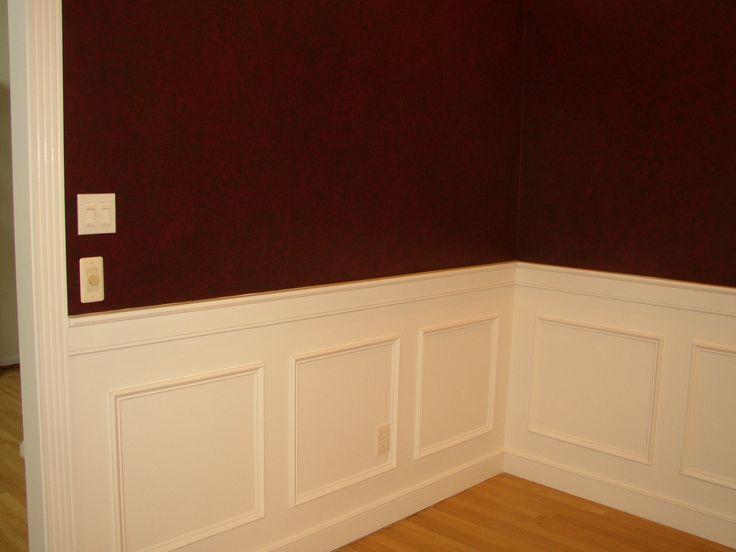 Waynes coating ideas sigovich design build interiors for Dining room paneling ideas