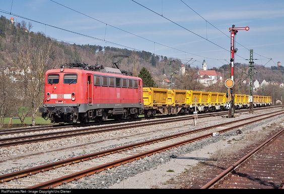 RailPictures.Net Photo: 140 808 DB Fahrwegdienste BR 140 at Horb am Neckar…